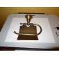Toalettpappershållare Antik mässing Väggmonterad 75 x 195mm (2.95 x 7.68