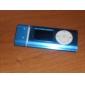 1,2 tums TF (micro sd) kortplats mp3-spelare med LCD-skärm (högtalare klämma)