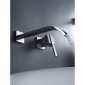 Sprinkle® by Lightinthebox - Contemporary Brass Waterfall Bathroom Sink Faucet (Wall Mount)