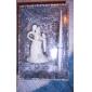 Bride and Groom Design Wedding Pen Set in White Resin