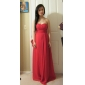 Formal Evening/Military Ball Dress - Ruby Plus Sizes Sheath/Column Strapless/Sweetheart Floor-length Chiffon/Stretch Satin