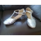 Leatherette/Sparkling Glitter Upper Dance Shoes Ballroom Latin Shoes for Women and Kids