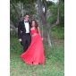 Prom/Military Ball/Formal Evening Dress - Watermelon Plus Sizes Sheath/Column Strapless/Sweetheart Floor-length Georgette