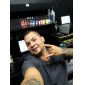 4x Tattoo Machine Grips 17x Stainless Steel Tips Set