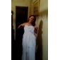 웨딩 드레스 - 아이보리(색상은 모니터에 따라 다를 수 있음) 시스/컬럼 바닥 길이 스윗하트 쉬폰 플러스 사이즈