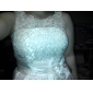 Mini Vestido de Casamento em Tafetá (Linha A)