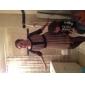 TS Gathered Perspective Layered Lace Dress
