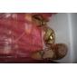 Escarpins Ouverts de Danse à Brides Croisées en Similicuir (Autres Coloris Disponibles)