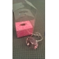 """""""With this ring"""" Crystal key ring (Pink)"""
