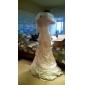Sheath/Column Wedding Dress - Ivory Sweep/Brush Train Strapless Taffeta