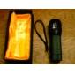 180 lumen llevó zoom ajustable enfoque impermeable mini linterna antorcha