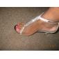 similicuir supérieure des sandales talon aiguille avec le mariage strass / chaussures de soirée plus de couleurs disponibles