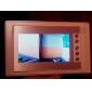7 inch TFT color ușă telefon sistem LCD de video-interfon cu aparat de fotografiat impermeabil (420 TVL)