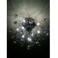 10 Takmonterad ,  Modern Elektropläterad Särdrag for Kristall Metall Vardagsrum Sovrum Dining Room