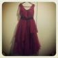AKIVA - kjole til kveld i Satin og tulle