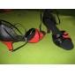 Empeigne en cuir véritable chaussures de danse de salon des chaussures pour les femmes latino-