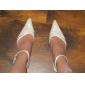 högsta kvalitet satin övre låg klack sandaler med rhinestone skor bröllop brud