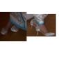 satin övre hög klack slutna tår med strass skor bröllop brud