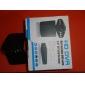 2,5 tuuman HD-auton DVR hämäränäön kääntyvä ja taittuva TFT LCD-näyttö