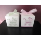 """""""Baby's Day Out"""" Laser Cut Carriage Favor Box – Set of 12 (More Colors)"""
