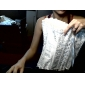 corsetti chiusura senza spalline in raso davanti busk shapewear occasione speciale più colori disponibili lingerie sexy shaper