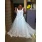IMEYNA - Kleid für die Braut aus Organza und Satin