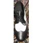 äkta läder övre dansskor balsal moderna skor för män