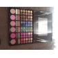 78 цвета 3in1 профессиональный 60 тени для век 12 помада 6 румяна макияж косметическим палитру с зеркалом и 2 губки аппликатора