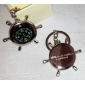 Personalized Key Ring - Compass (set of 6)