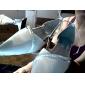 de qualité supérieure de satin sandales à talons bas supérieures avec strass chaussures de mariée mariage