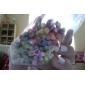 100st 3d sockerrör stick rod klistermärke nail art dekorationer (slumpvis färg)