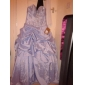 Prom/Formal Evening/Quinceanera/Sweet 16 Dress - Burgundy Plus Sizes Ball Gown Strapless/Sweetheart Floor-length Taffeta