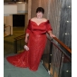 GERALDINA - Kleid für Abendveranstaltung aus Satin und Paillettenbesetzt