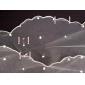 Voal de Nuntă Trei niveluri Voaluri de Catedrală Vârf creion Ornament margine perlă 102.36 in (260cm) Tul Alb IvoriuA-line, Rochie de