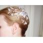 gorgeous Nachahmungen von Perlen Hochzeit Braut Kämme