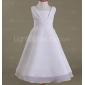 LAIA - kjole til blomsterpige i chiffon og satin