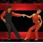 icke anpassnings barnens / för män dansskor balsal / modern konstläder platt klack svart