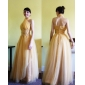 ANGELA - kjole til Aften i satin og tyl