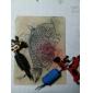 disegno libellula macchina rotativa del tatuaggio (7 colori disponibili)