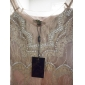 TS Diamond Decor Nude Lace Dress
