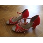 kvinnors satin övre balsal dansskor latinska skor fler färger