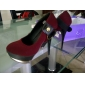 Fabric Stiletto Pumps With Rivets And Buckles(More Colors)