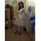 STAFFORDSHIRE MOORLANDS - kjole til brudepike i Taffeta