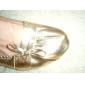 Konstläder övre mage / yoga skor för kvinnor fler färger