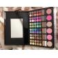 78 colores 3in1 paleta cosmética profesional sombra de ojos 60 12 lipstick maquillaje 6 colorete con espejo y aplicador de esponja 2