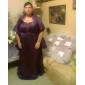 DONALDA - Robe de Demoiselle d'Honneur Satin - Châle Inclus