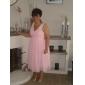 ALESSA - Bruiloftsfeestjurk of Bruidsmeisjesjurk van Chiffon