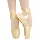 Customize Performance Dance Shoes Satin Upper Low Box Ballet Pointe Shoes More Colors