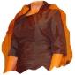 Bruiloft Wraps Jassen / Jackets Halfe Mouw Taf Bordeaux Feest/Avond T-shirt Open Voorkant