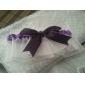 White Satin Double Ribbon Wedding Garter